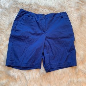 Talbots Blue Chino Shorts